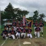 松戸市立八ヶ崎小学校の校庭で活動している竜房台ソフトボール