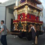 7月24日(日)高山祭屋台会館に展示している祭屋台が入れ替わります。現在展示中