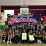 ミニバスケットチーム「フェアリーズ 」JEFカップ 準優勝