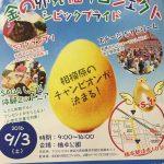 本日、橋本公園で大きなイベントをやっています。様々なパフォーマンスなど