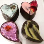 地元の美味しいケーキ屋さんエンジェルバレンタインのチョコレートも美味しいです!今