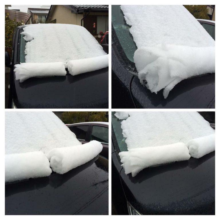 今日は今季最大の寒波到来ですね雪降りそう〜で思い出しました。不思議な雪の現象写真