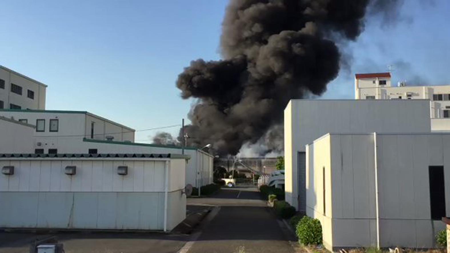 加古郡播磨町の播磨町塵芥処理センターの北側で火災が発生したそうです。【火災情報】