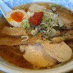 麺屋はやさか、夏のスペシャルメニュ『冷し辛みそととこらーめん』780円。