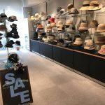 神戸トアロードの帽子専門店マキシンにてサマークリアランス開催中です。