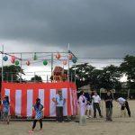 コミュニティ主催の盆踊りが開催されました。