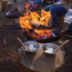 【さとやま交流会】本格的なたき火とジビエ料理を楽しみませんか