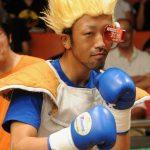 コスプレプロボクサーのベジータ石川選手