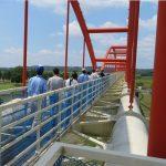 荒川水管橋見学会を開催します