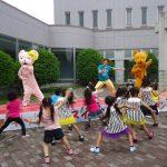 県民健康福祉村GWイベント「大芝生広場で青空ダンス」開催