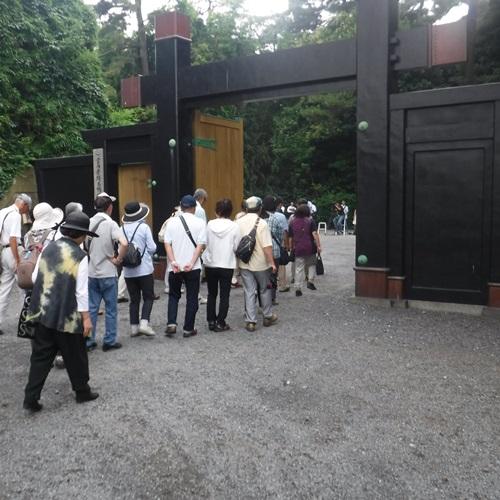宮内庁埼玉鴨場の見学会