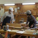 埼玉県農林公園「8月の農林学級」木工自由工作