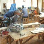 埼玉県農林公園「9月の農林学級」木工自由工作