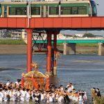 大阪三大夏祭りの最後の「住吉祭り 神輿渡御」