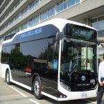 燃料電池バスに乗ってみよう!!