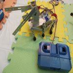 ロボットづくり体験教室(6足ロボット)